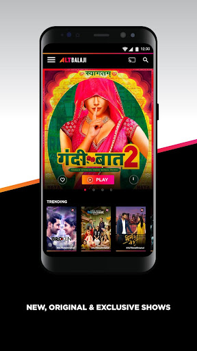ALTBalaji u2013 Original and Exclusive Indian Shows 2.0.10 screenshots 1