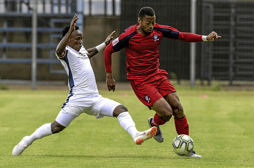 Jomo Cosmos attacking midfielder Matsilele Jr. Sono c827d2fda0