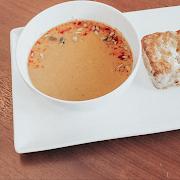Butternut + Apple Soup