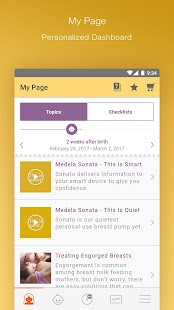 MyMedela- screenshot thumbnail
