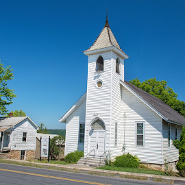 Mt. Airy, PA Church by Jerry Hoffman - Buildings & Architecture Places of Worship (  )