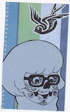 Photo: Wenchkin's Mail Art 366 - Day 134, Card 134c