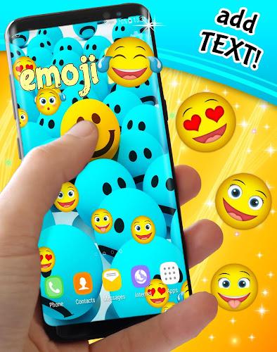 Emoji live wallpaper Android App Screenshot