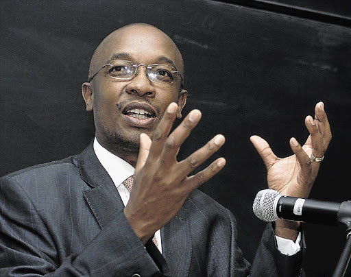 The mayor of Johannesburg, Parks Tau