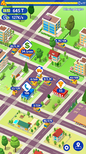 Idle Pizza Tycoon - Delivery Pizza Game  captures d'écran 2