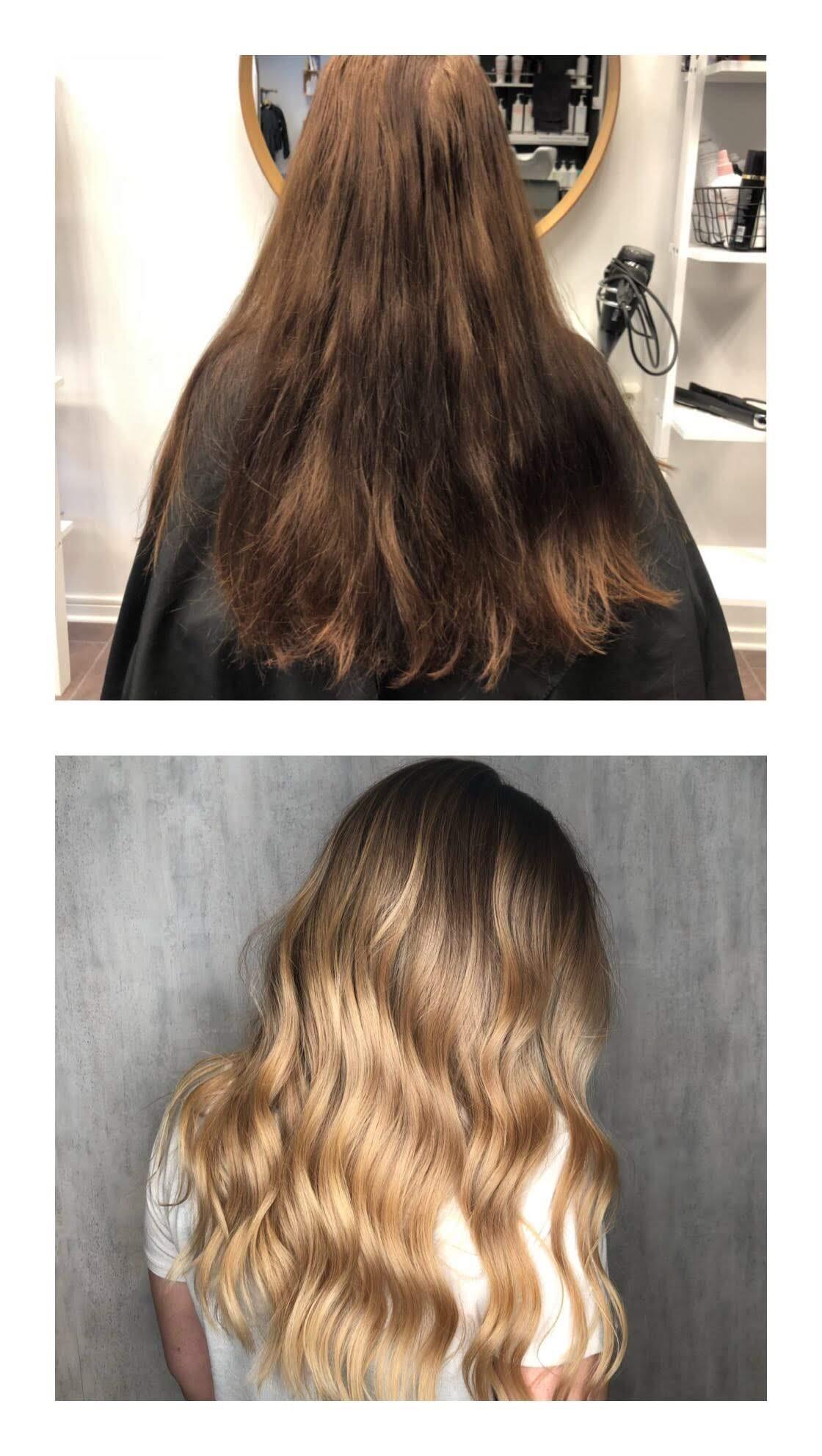 få bort gula toner i håret äppelcidervinäger