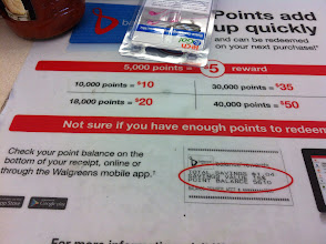 Photo: Always a great reminder about the Balance Rewards Program at the check out. They should add into about the Steps program here!