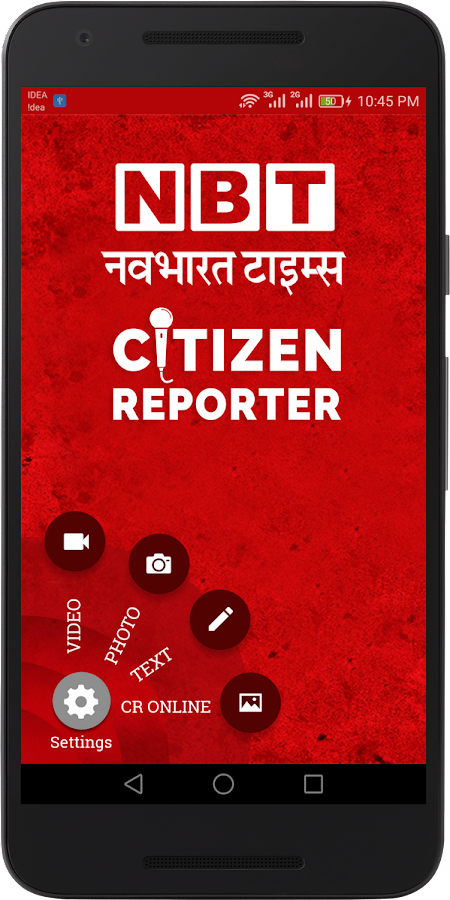NBT Citizen Reporter- screenshot
