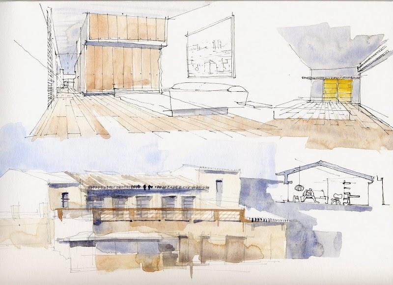 Vivienda unifamiliar que nace de un espacio agrícola - Sauquet Arquitectes