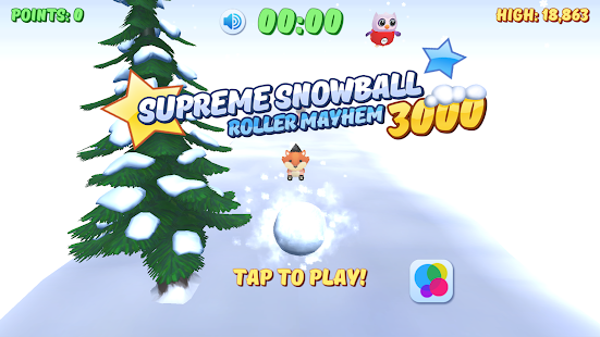 Supreme Snowball Roller Mayhem- screenshot thumbnail