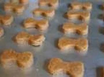 Peanut Butter Dog Treats
