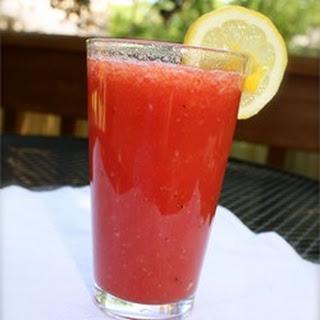 Watermelon and Strawberry Lemonade.