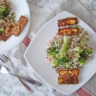 Healthy Tofu With Quinoa Recipes