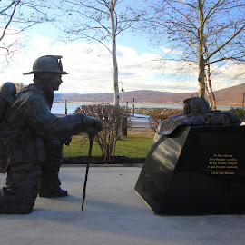 Firemen remembered by Janet Smothers - City,  Street & Park  City Parks