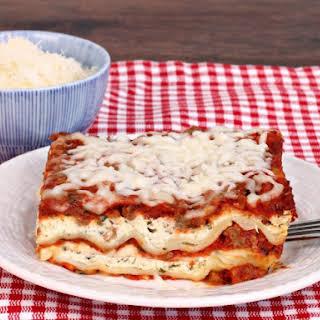 Easy Lasagna for a Crowd.