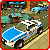 Police Car Race Chase Sim 911