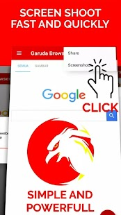 Garuda Browser : Adblock & Simple Browser - náhled