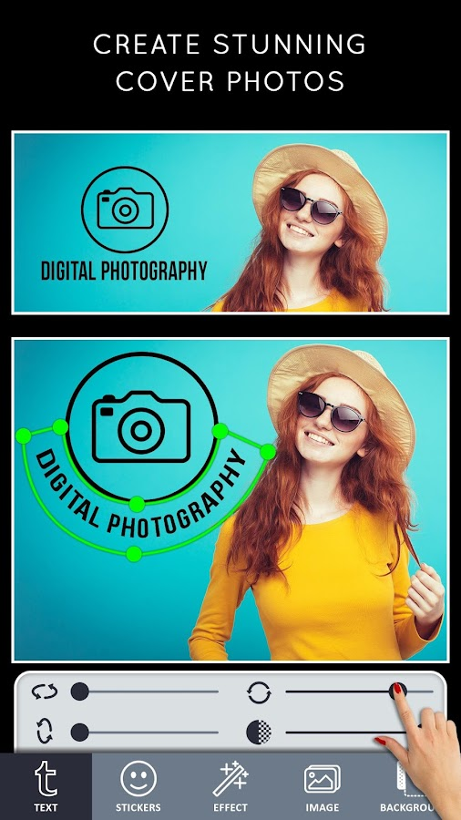 Book Cover Photography App : Cover photo maker banners thumbnails designer