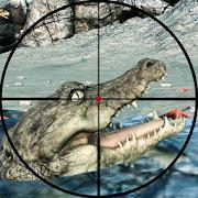 Crocodile Sniper Shooter Hunt
