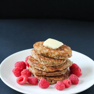 Best Ever Oatmeal Buttermilk Pancakes.