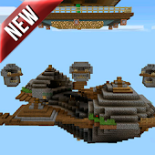 SkyWars map for MCPE 1.0.5