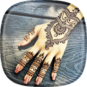 Mehndi design Live Wallpaper