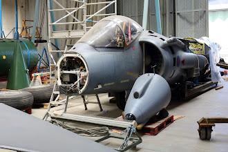 Photo: British Aerospace Harrier GR9, loni byl v celku.