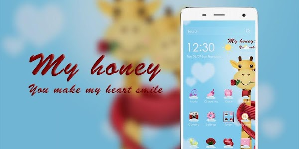 Honey Cartoon Theme screenshot 3