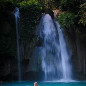 Kawasan Falls, Cebu by Sergei Tokmakov - Landscapes Waterscapes ( cebu, kawasan )