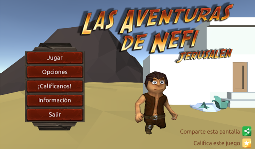 玩免費冒險APP|下載Aventuras de Nefi: Jerusalén app不用錢|硬是要APP