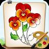 Coloriage Fleurs Blossom et Pétales APK