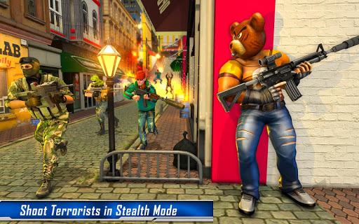 Teddy Bear Gun Strike Game: Counter Shooting Games apkmr screenshots 14