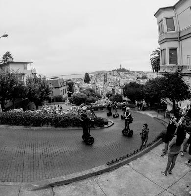 San Francisco vista da Lombard Street di MonAnd ph