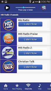 His Radio- screenshot thumbnail