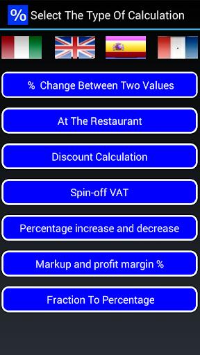 Percentages Calculator Promo