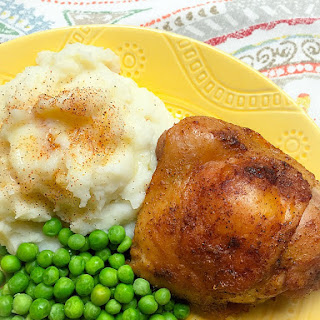 Easy Creole Baked Chicken