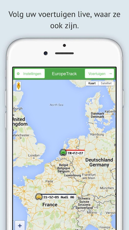 EuropeTrack- screenshot
