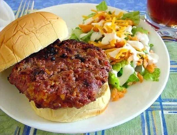 Original Cheddar Ranch Burgers Recipe