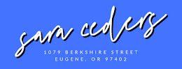 Sara Cedars - Address Label item