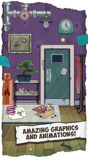 Fun Escape Room Puzzles u2013 Can You Escape 100 Doors apktram screenshots 3
