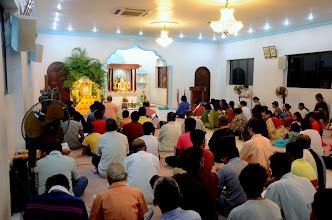 Photo: Bhajans on Bhagavan Buddhadeva