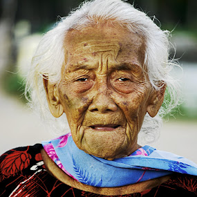 old lady by Prince Edy - People Portraits of Women