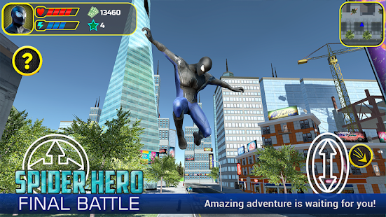 Spider Hero: Final Battle- screenshot thumbnail