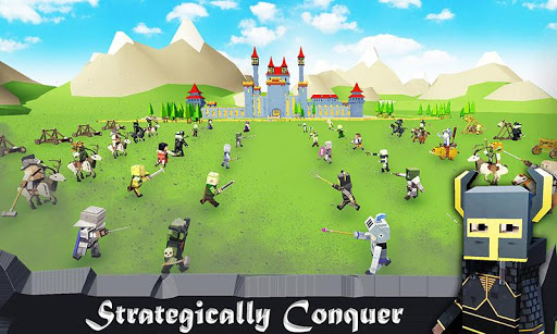 Epic Battle Ground Warriors Tactical War Simulator 1.3 screenshots 1