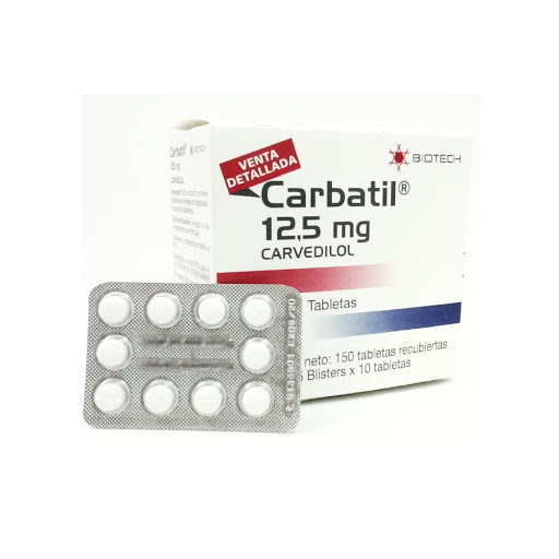 Carvedilol Carbatil 12,5mg Blister