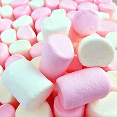slime comestível de marshmallow
