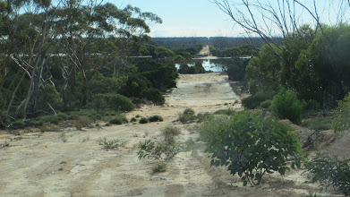 Photo: The old telegraph track towards Norseman ...
