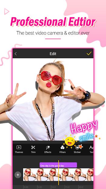Star Vlog Creator – Slow Motion, Video Editor Android App Screenshot