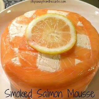 Smoked Salmon Mousse.