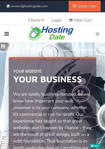 Hosting Dale | Best Web Hosting Services 1.2 screenshots 2